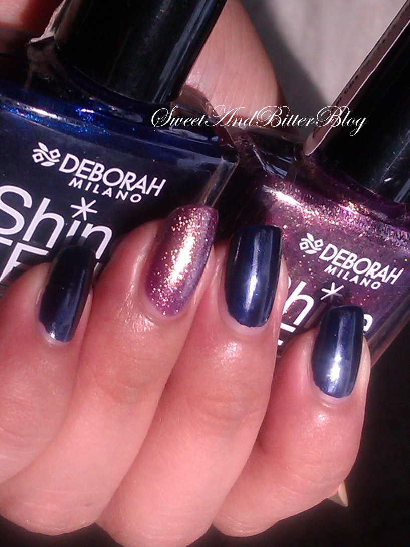 Deborah Milano Shine Tech Nail Polish Swatch 60 And 35 ...