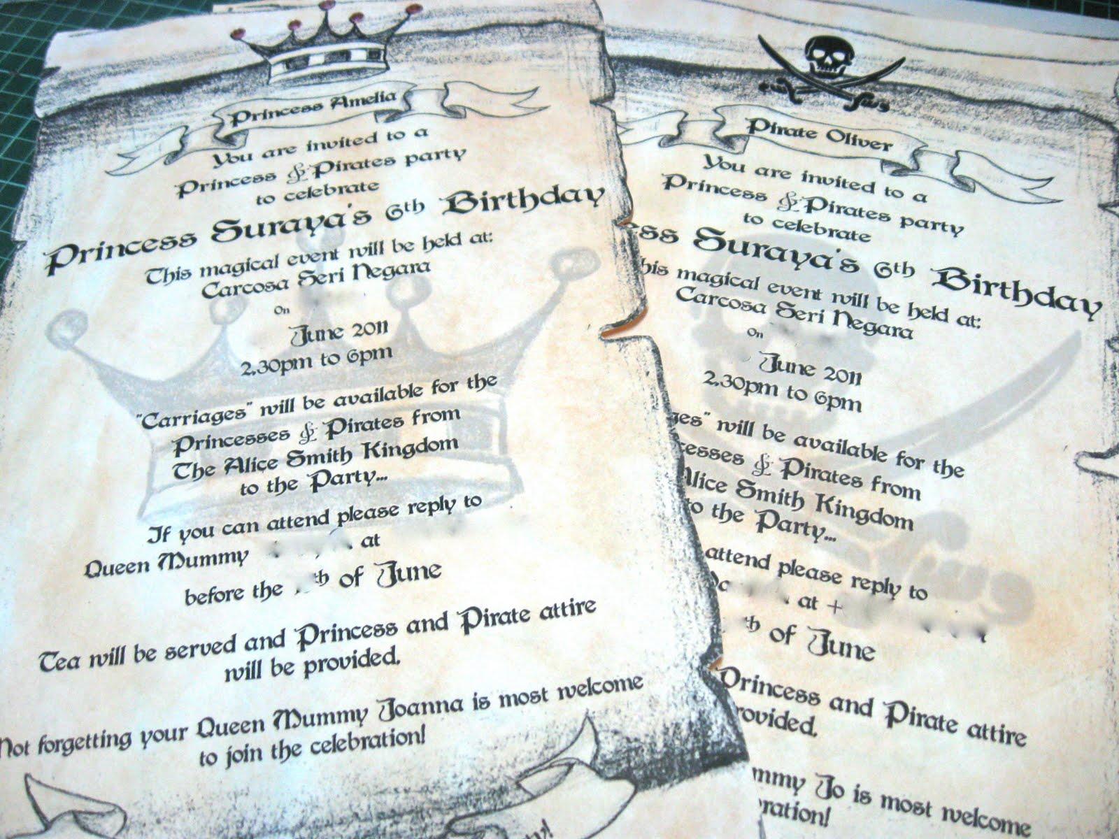 Fancy Scroll Party Invitations Embellishment Invitation Card Ideas