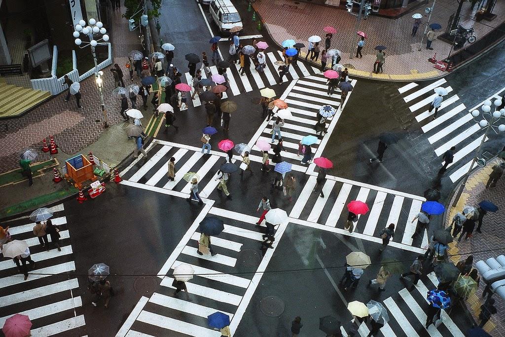 Cruce en Japón