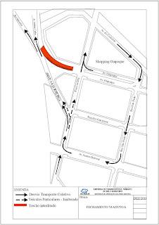 Implantação da BRT altera Trânsito na Capital