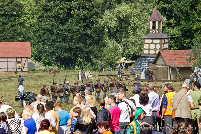 Воины Германской армии