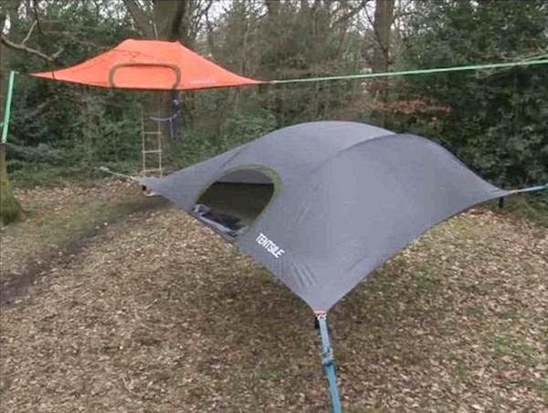 6. Floating Camping Tent