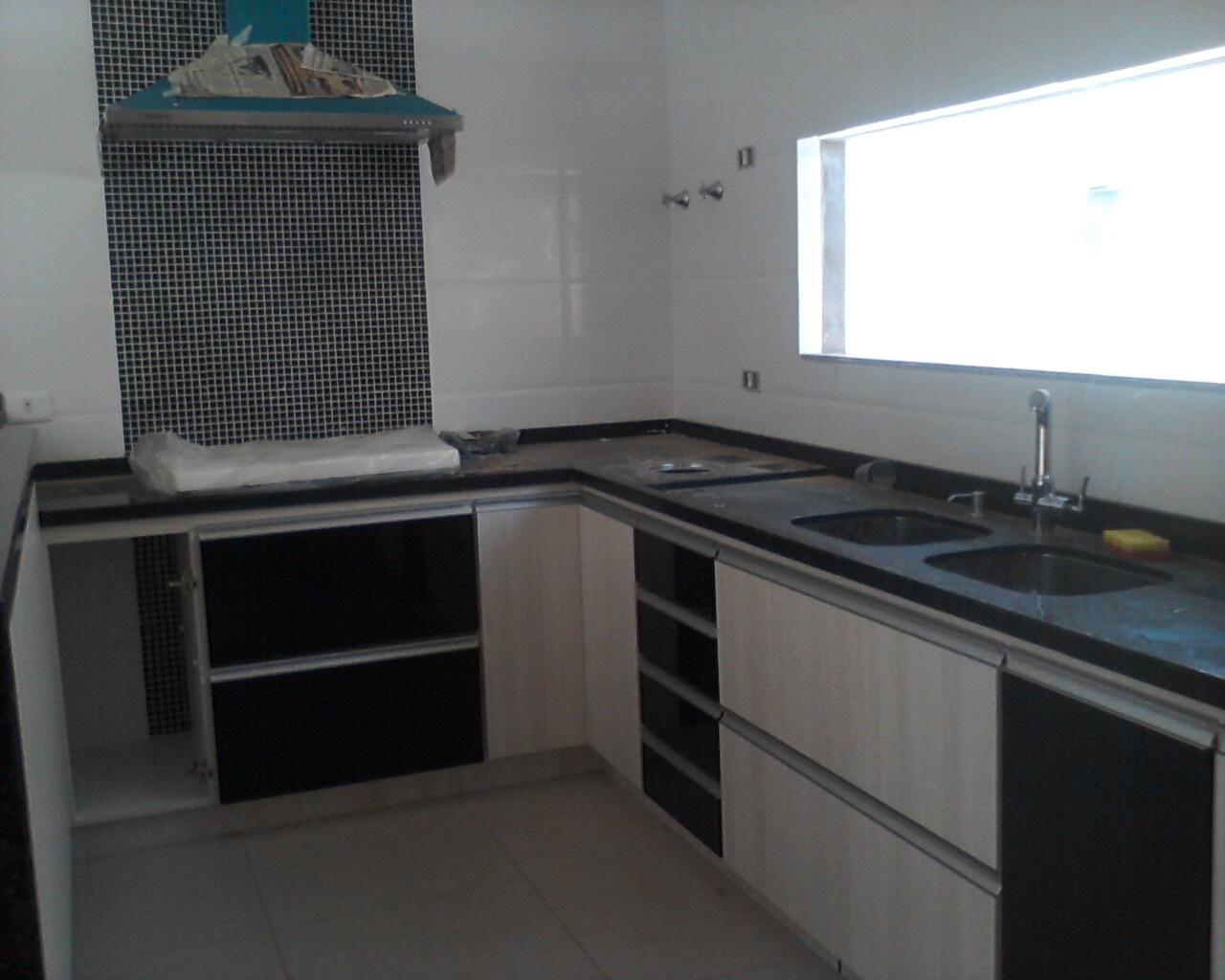 Construindo nosso Lar: Cozinha em U armários #4C657F 1280 1024