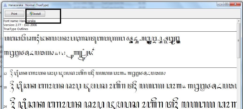 Cara Membuat Pengetikan Font Bahasa Jawa Di Microsoft Word Blog Seputar Dunia Pendidikan