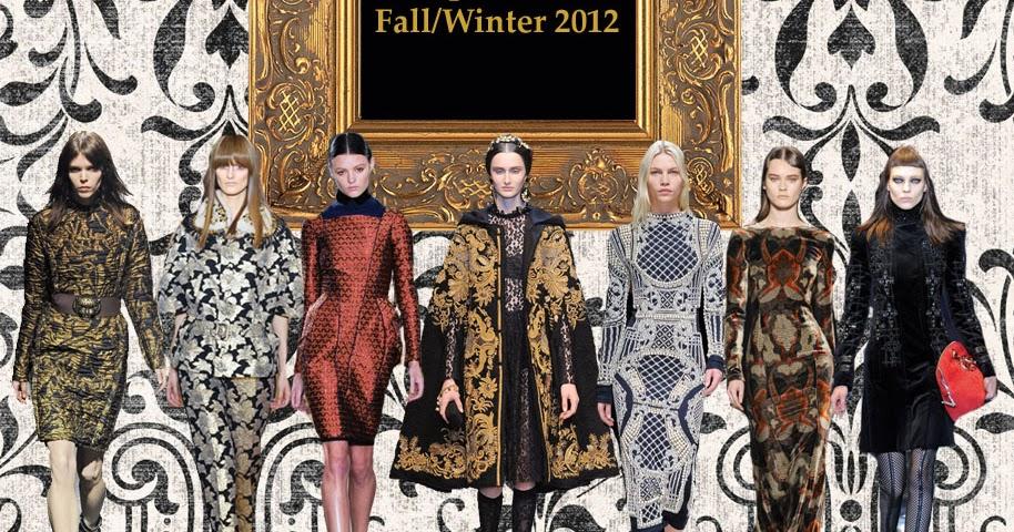 Under Your Abaya Fall Winter 2012 Trend Watch Baroque Fashion