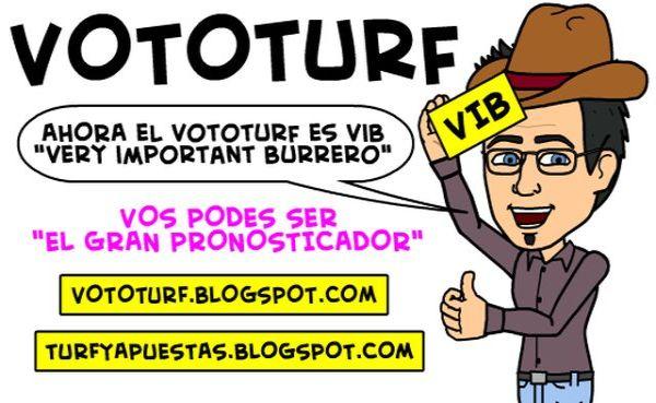 Torneo de Pronósticos de Turf VOTOTURF VIB