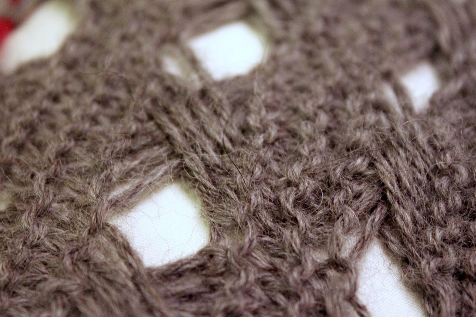 Cross Stitch Knitting Pattern Scarf : on my honor...: Peanut & Purl:Cross Stitch Scarf