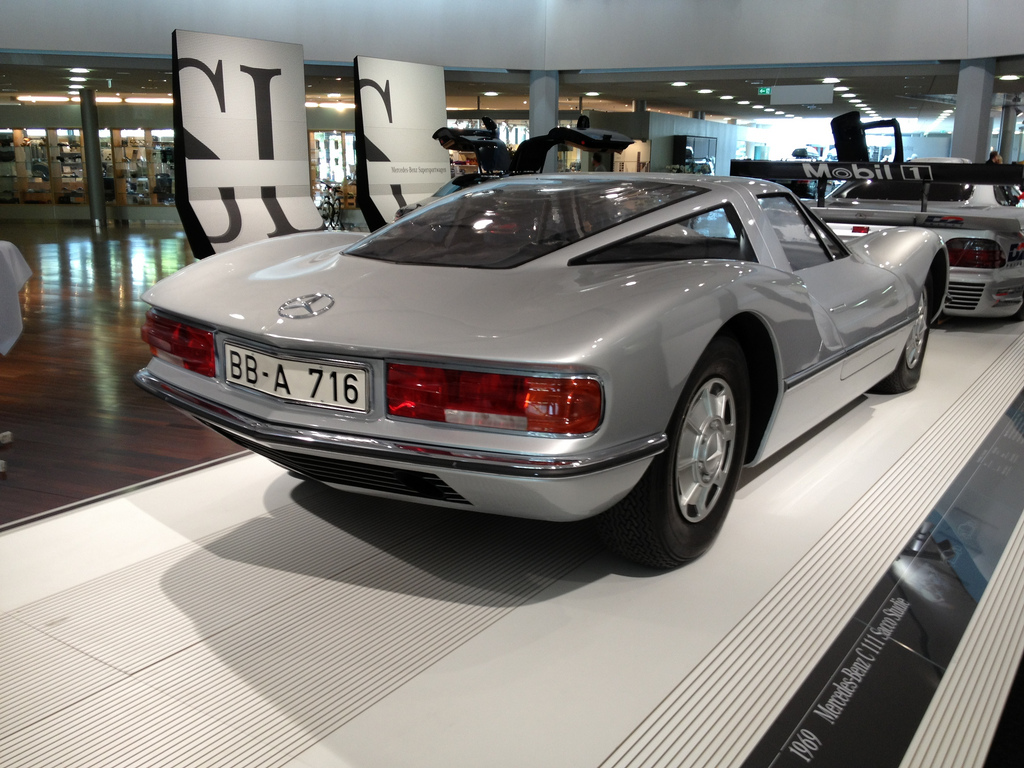 ///KarzNshit///: Mercedes C111 design study by Bruno Sacco