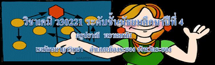 วิชาเคมี ว30221
