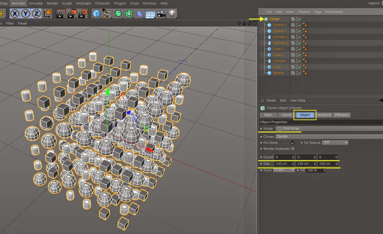 The_Cluster_Effect in C4D 05