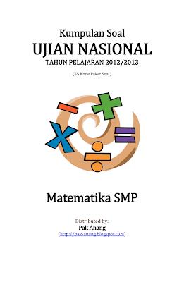 Kumpulan Soal Un Matematika Smp 2013 (55 Paket Soal)