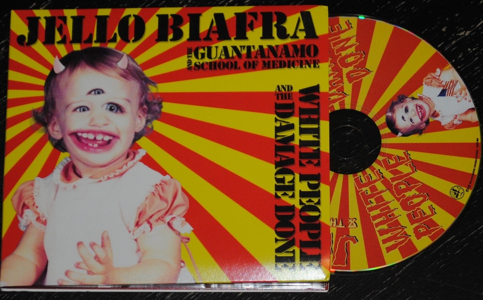 Jello Biafra With Melvins - Never Breathe What You Can't See