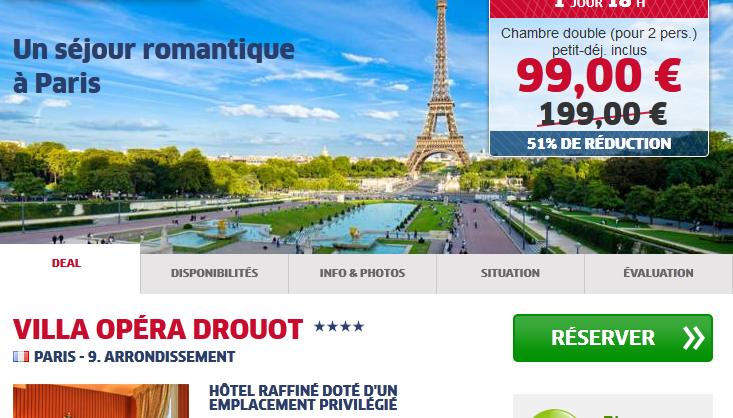 Hotel low cost Paris