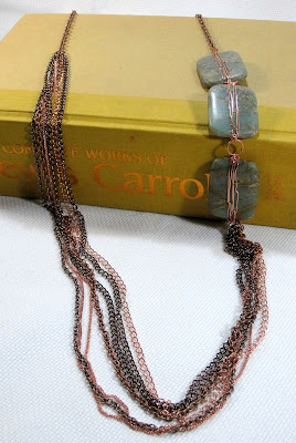 Copper and Jasper Necklace