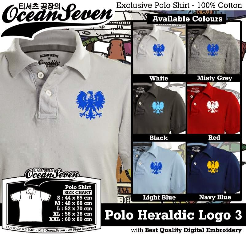 Kaos Polo Heraldic Logo 3