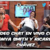 Sonya Smith y Ricardo Chávez, ¡juntos en Vídeo Chat!