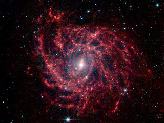 Звездная паутина - галактика IC 342