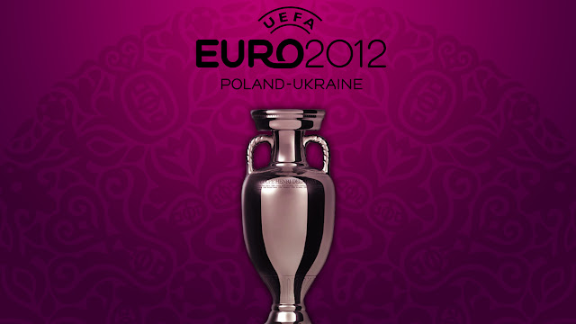 UEFA Championship Trophy Euro 2012 design wallpaper