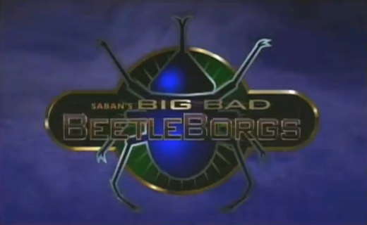 Saban's Big Bad Beetleborgs 90's American Kids Show Title Broadcasted in ABC-5