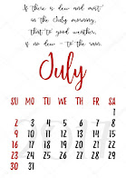 Hello July!!!!