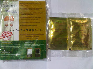 Koyo Kaki Bamboo Gold Foot Patch Original