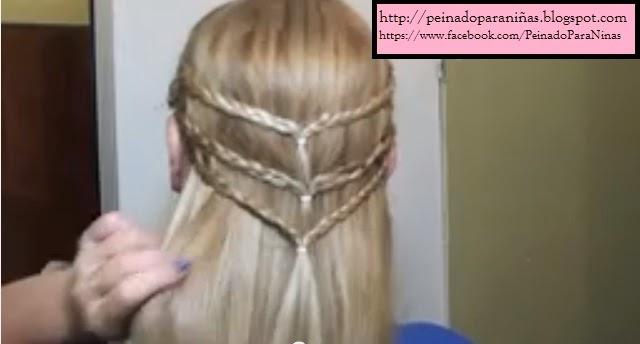 Peinados De Trenzas Faciles Para Niña Paso A Paso - Cómo hacer peinados de trenzas para niñas Muy Sencillo