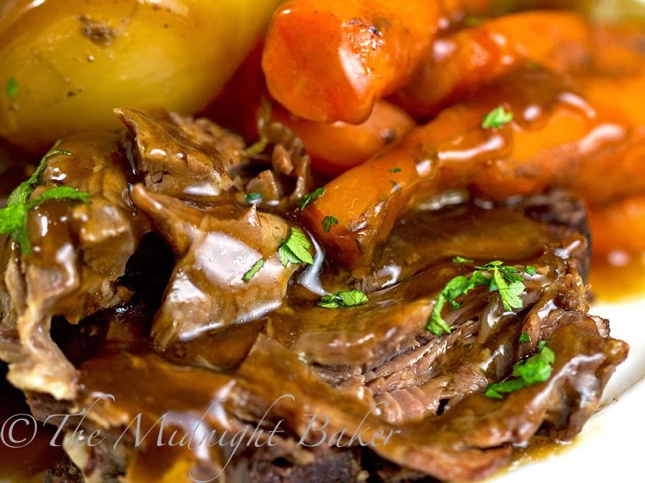 Slow Cooker Classic Pot Roast #SlowCooker #CrockPot #PotRoastRecipe
