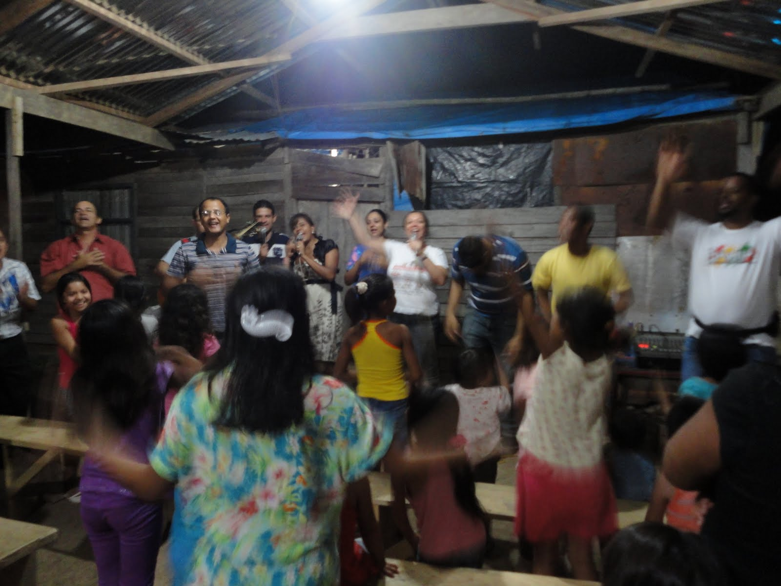 CPM na congregação de Vila Marin