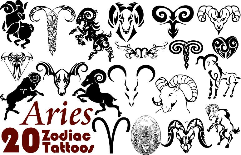Zodiac Tattoo Designs ...