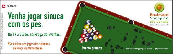 Boulevard São Gonçalo promove evento inusitado pela Copa das Confederações