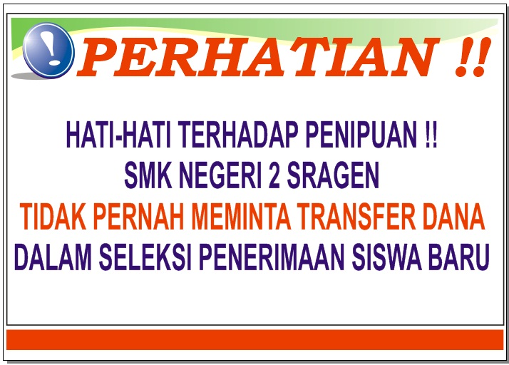 INFO PENTING