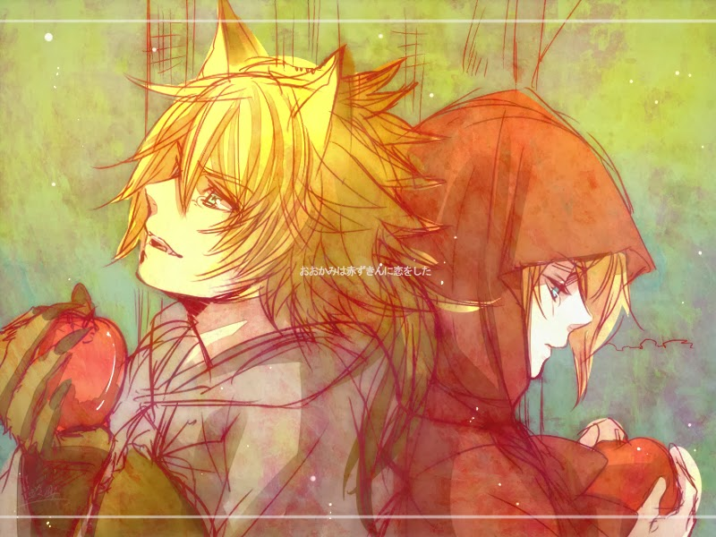 Anime red riding hood and wolf love pictures to pin on pinterest vocaloid anime pictures 800x600 the wolf that fell in love with red riding hood vocaloid 800x800 sciox Choice Image