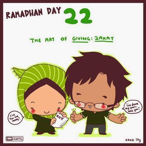 Wallpaper Ramadhan : Kartun Lucu Sepuluh Hari Terakhir di bulan Ramadhan