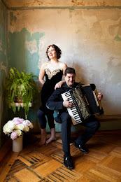 EVA SALINA & PETER STAN Balkan Romani songs and accordion