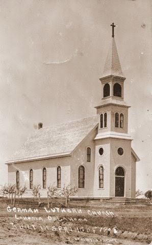 Zion Lutheran Church - Lahoma, Oklahoma