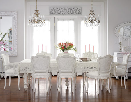 White dining room furniture furniture for White dining room chairs