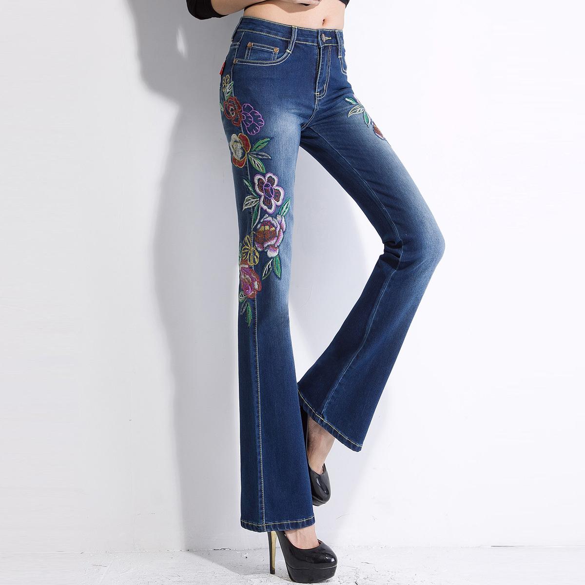 Fashionable clothes shoes jeans lipsticks nail polish