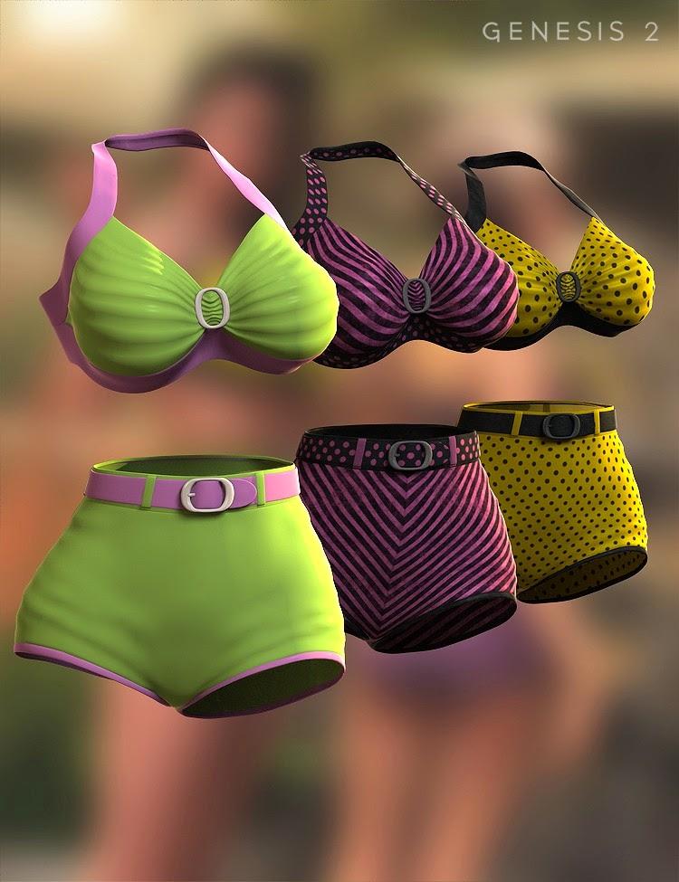 Bikini de Lucille Genèse 2 Femme