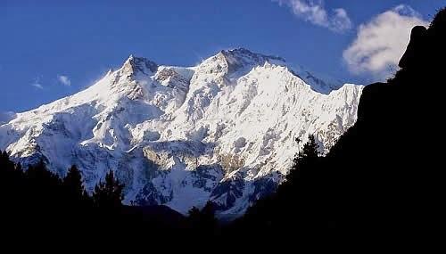 Nanga Parbat 8125m (26658ft) Pakistan