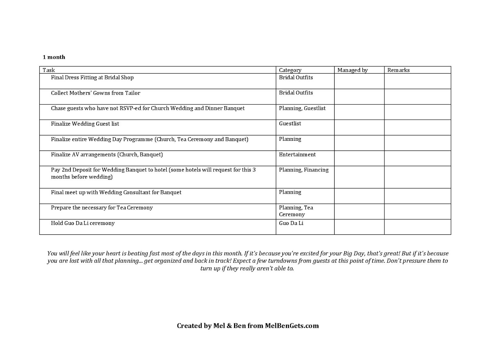 prep wedding prep timeline and checklist mel ben gets