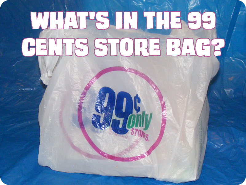 What's in the 99 Cents Store Bag?