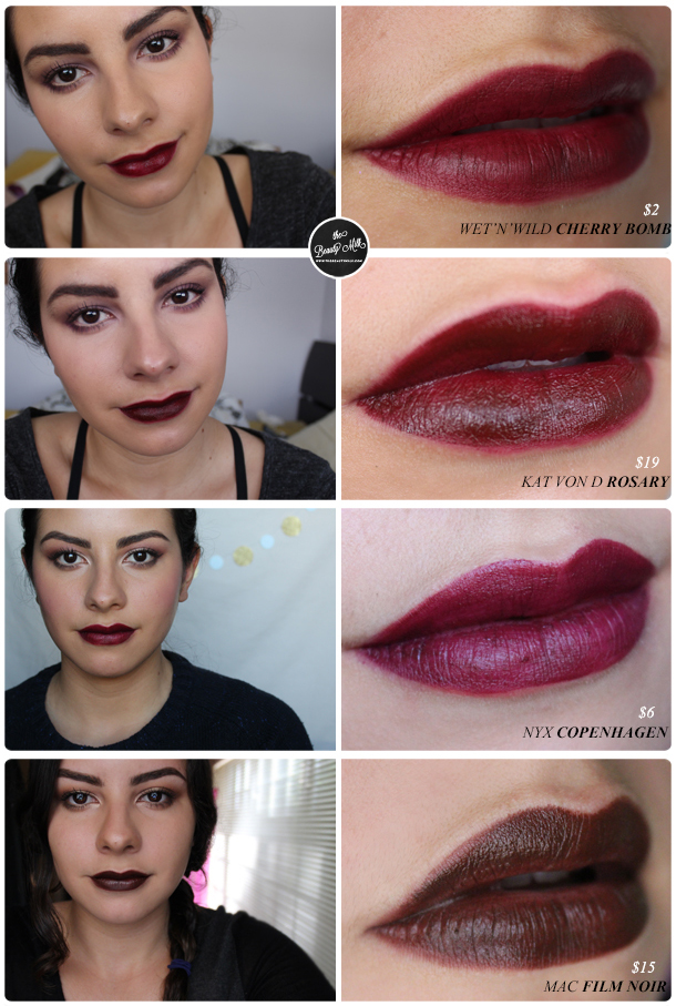 spotlight dark lipstick the beauty milk