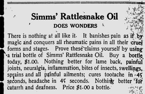 how to use tala snake oil
