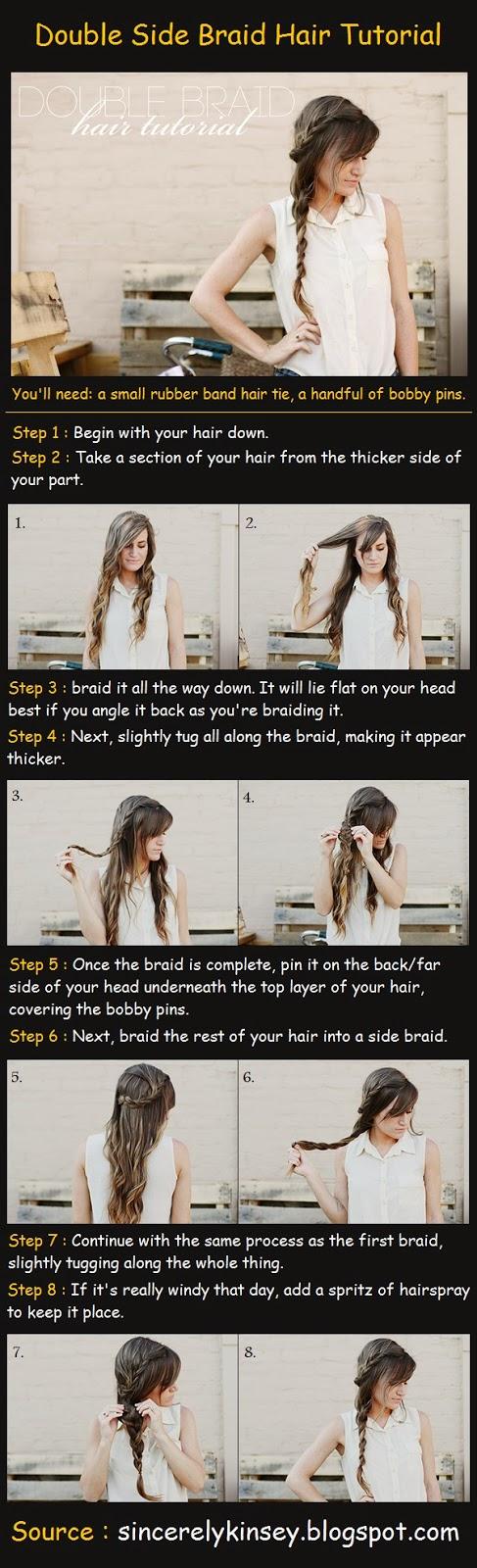 Modele de coiffure cheveux long