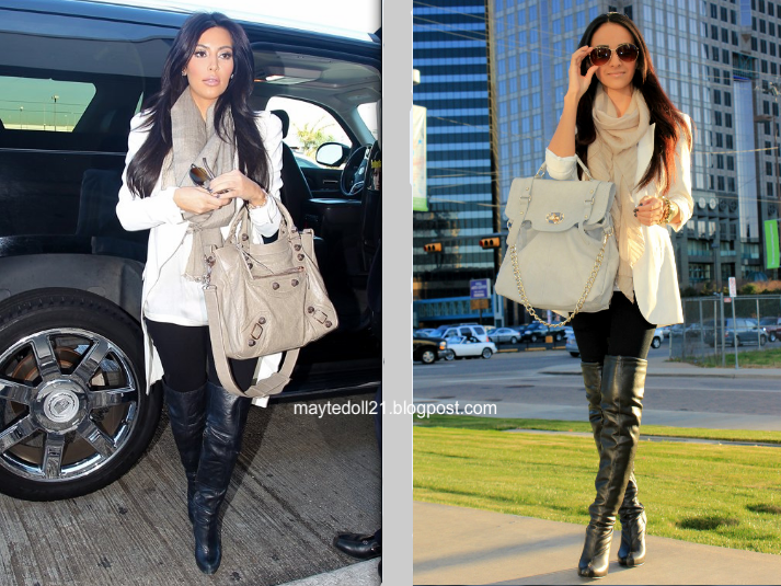 Kim Kardashian Inspired Outfit Neutral Colors Khloe And Rob In Dallas