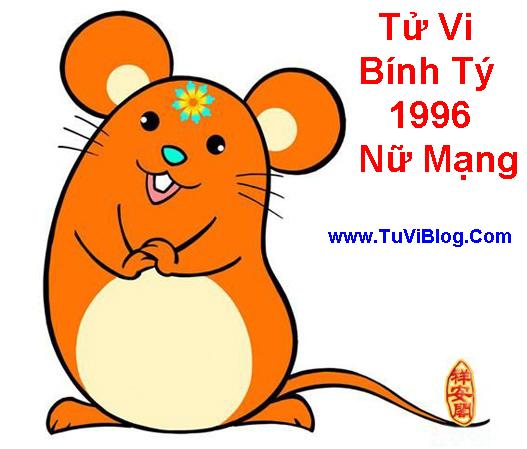 Tu Vi 2016 Binh Ty 1996 Nu