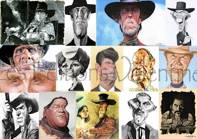 WANTED ! Caricature & western (Éditions Valentine)