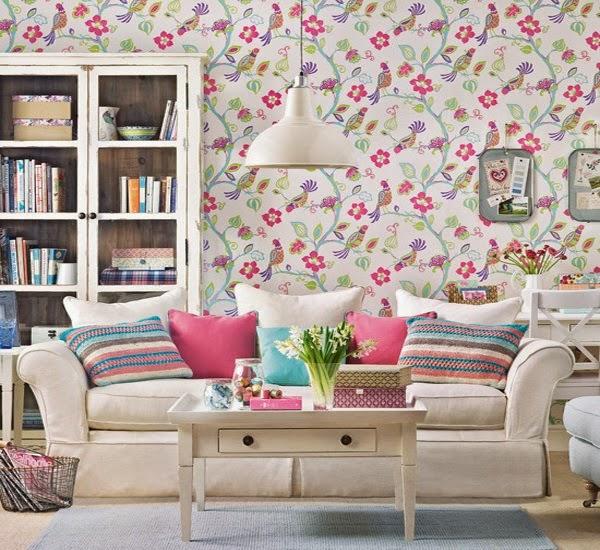 decoration papier peint salon - 20 papiers peints intissés qui font un relooking déco