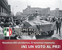 PRImero la represión
