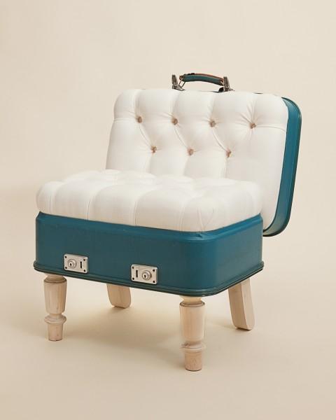 Repurposed Suitcase Furniture